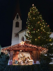 Weihnachten Dorfplatz